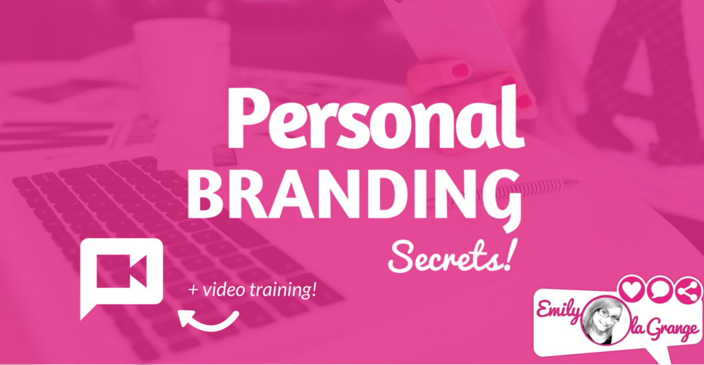 [FREE TRAINING] Personal Branding Secrets!