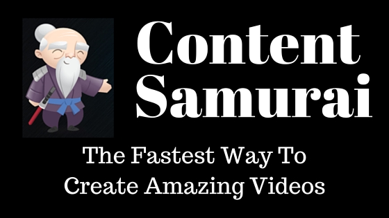 Content Samurai Video Creation Tool