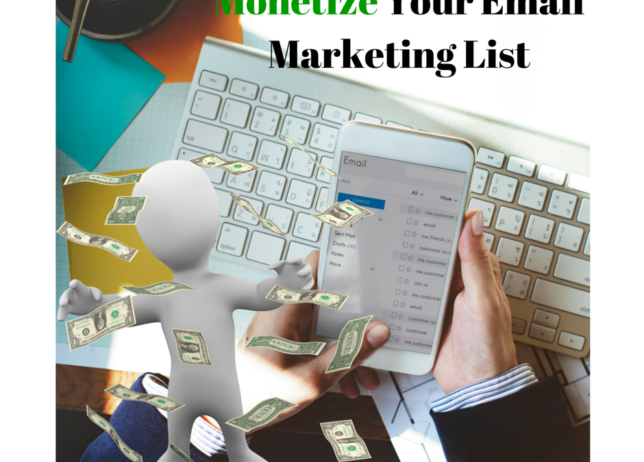 List and Customer Development – Monetize Your Email Marketing List