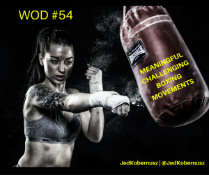 Meaningful Challenging Boxing Movements