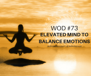 Elevated Mind To Balance Emotions