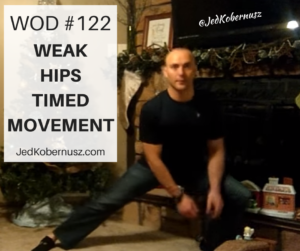 Weak Hips Timed Movement