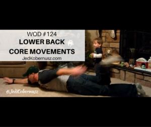 Lower Back Core Movements