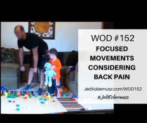 Focused Movements Considering Back Pain