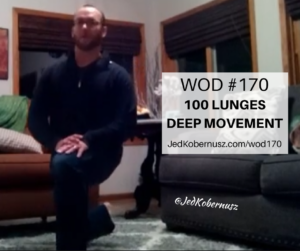 100 Lunges Deep Movement