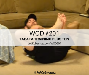 Tabata Training Plus Ten Seconds