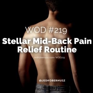 Stellar Mid-Back Pain Relief Routine