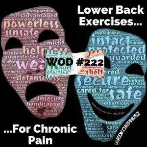 Lower Back Exercises For Chronic Pain