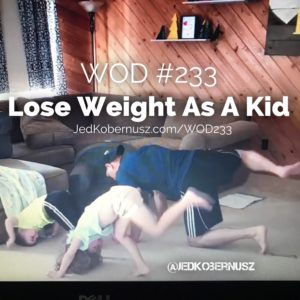 Lose Weight As A Kid