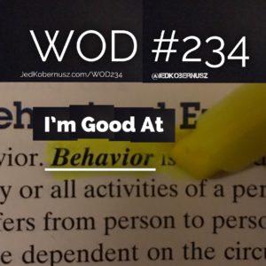 Im Good At Behavior