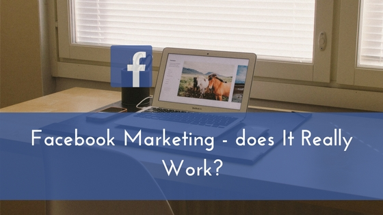Facebook Marketing - does It Really Work-