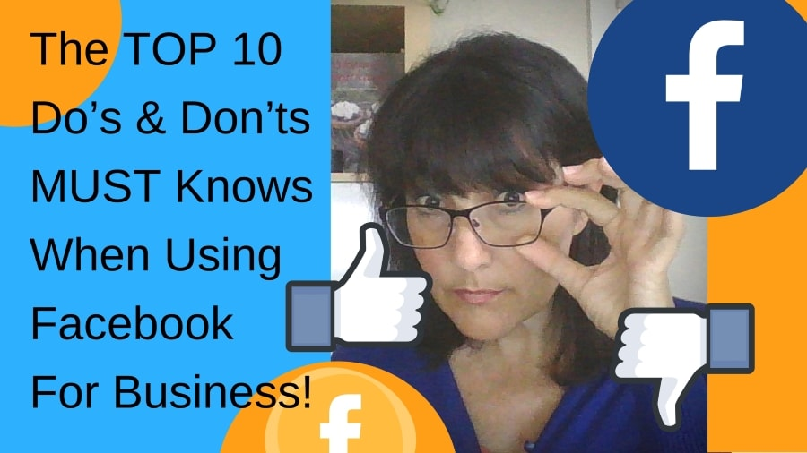Facebook Marketing: The Top 10 MUST Knows If You DON'T Want To Fail Miserably!