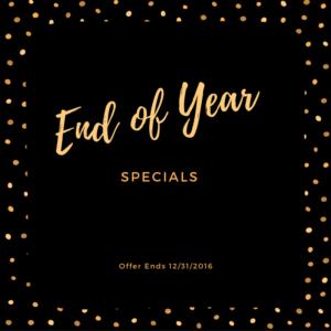 End Of Year Bonus Specials