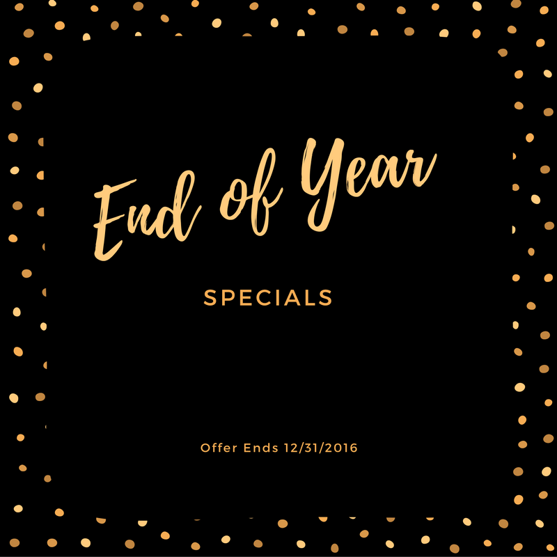 End Of Year Bonus Specials