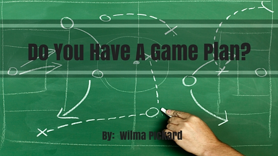 game plan Archives • Wilma Pickard