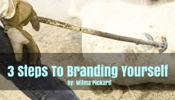 3 Steps To Brand Yourself Online