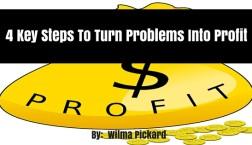4 Key Steps To Turn Problems Into Profit