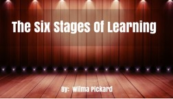 The 6 Stages Of Learning
