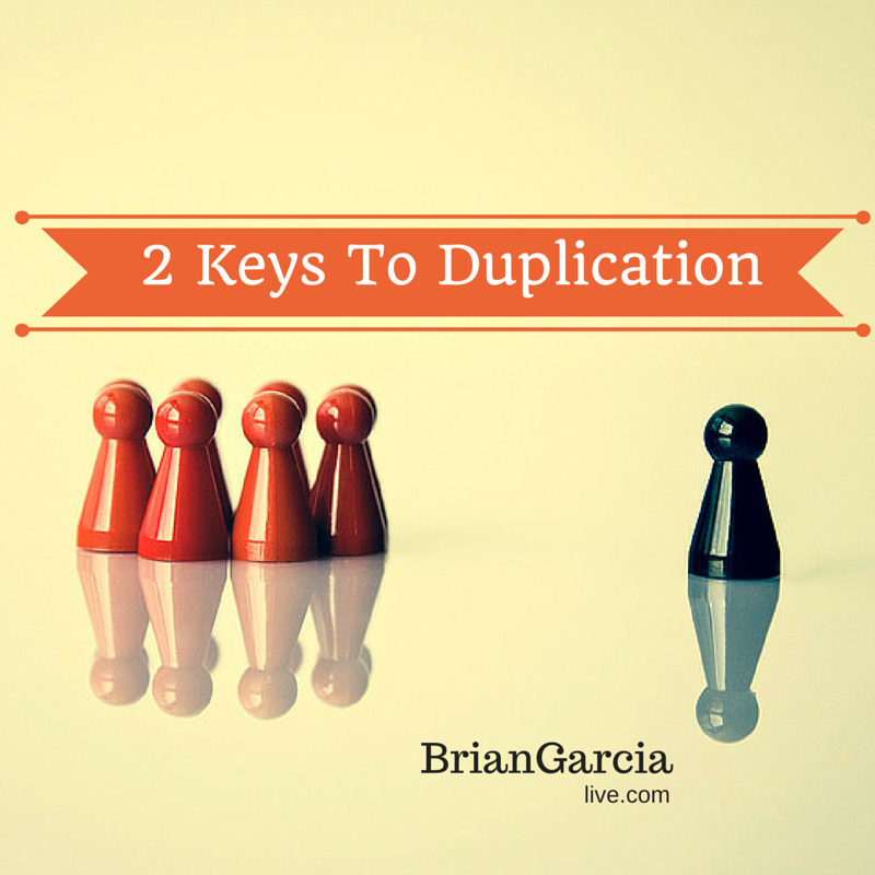 duplication in network marketing