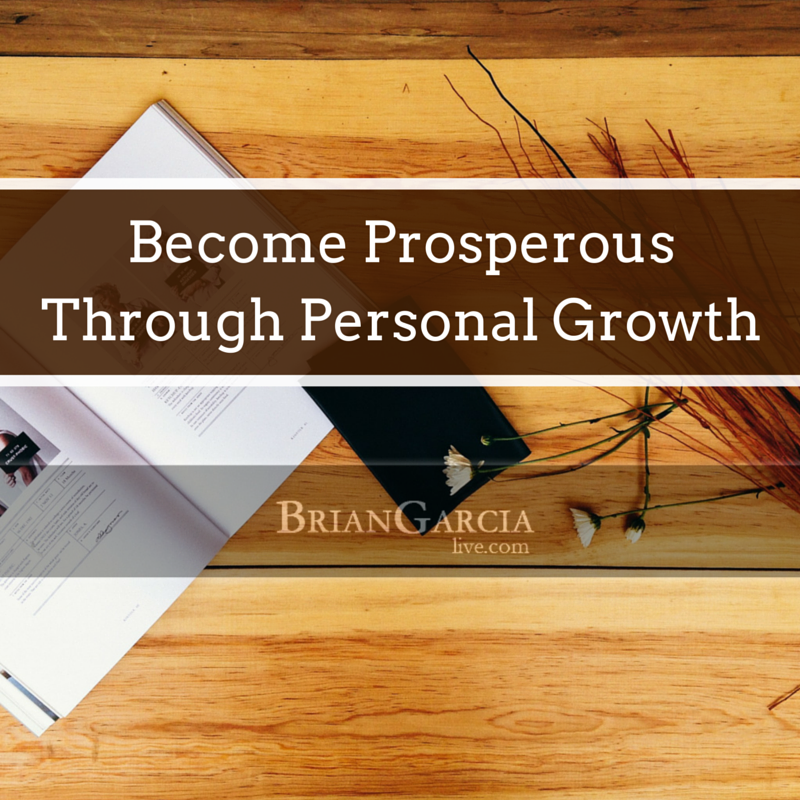 Become Prosperous Through Personal Growth