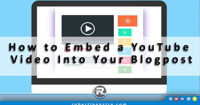 embed youtube video