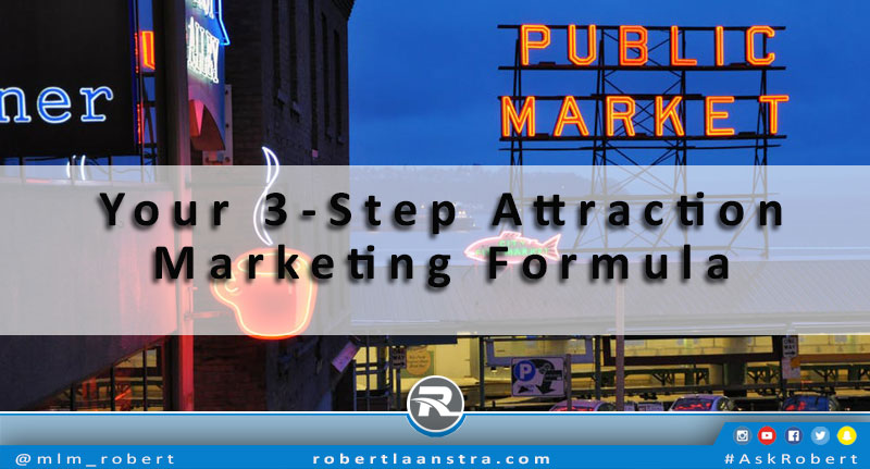 3-step attraction marketing