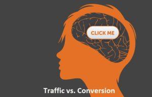 Traffic vs. Conversion