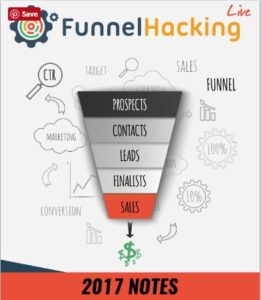 Funnel Hacking Live Event Notes
