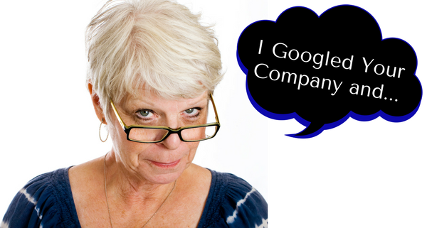 What to Say If Your Prospect Googles Your Company and Finds a Negative Review