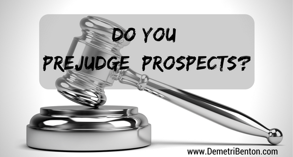 MLM 101: Do You Prejudge Prospects