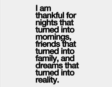 Thankful Blessed Growing