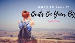 Network Marketing Success When To Call It Quits On Your Home Business