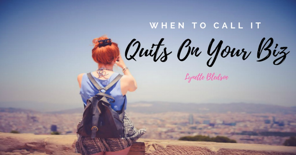 Network Marketing Success: When To Call It Quits On Your Home Business