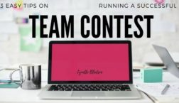 Network Marketing Training 3 Easy Tips On Running A Successful Team Contest