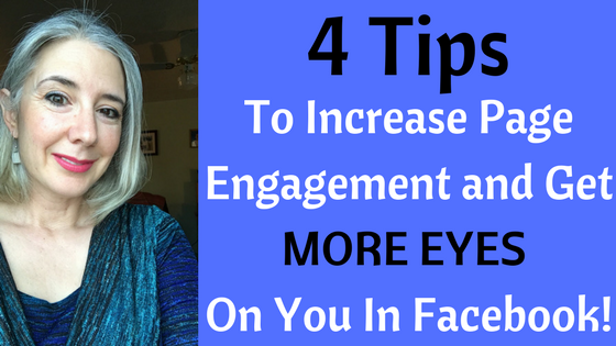 4 Tips To Increase Page Engagement and Get MORE EYES On You In Facebook!