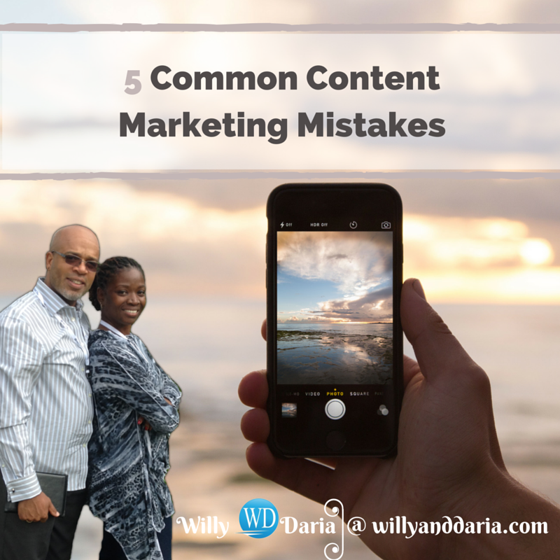Are you Making These Content Marketing Mistakes?