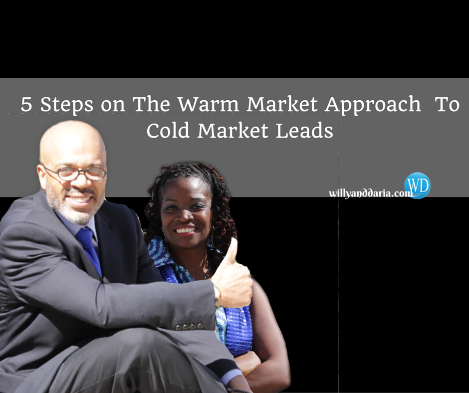 5 Steps On the Prospecting Approach to Warm or Cold Market Leads!?!