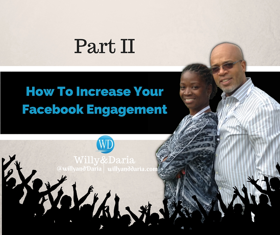 What's Working Now Mastermind- How to Increase Facebook Engagement Part II