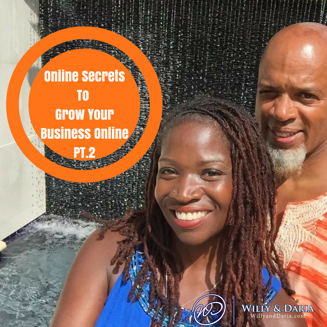 Online Secrets To Grow Your Online Business PII