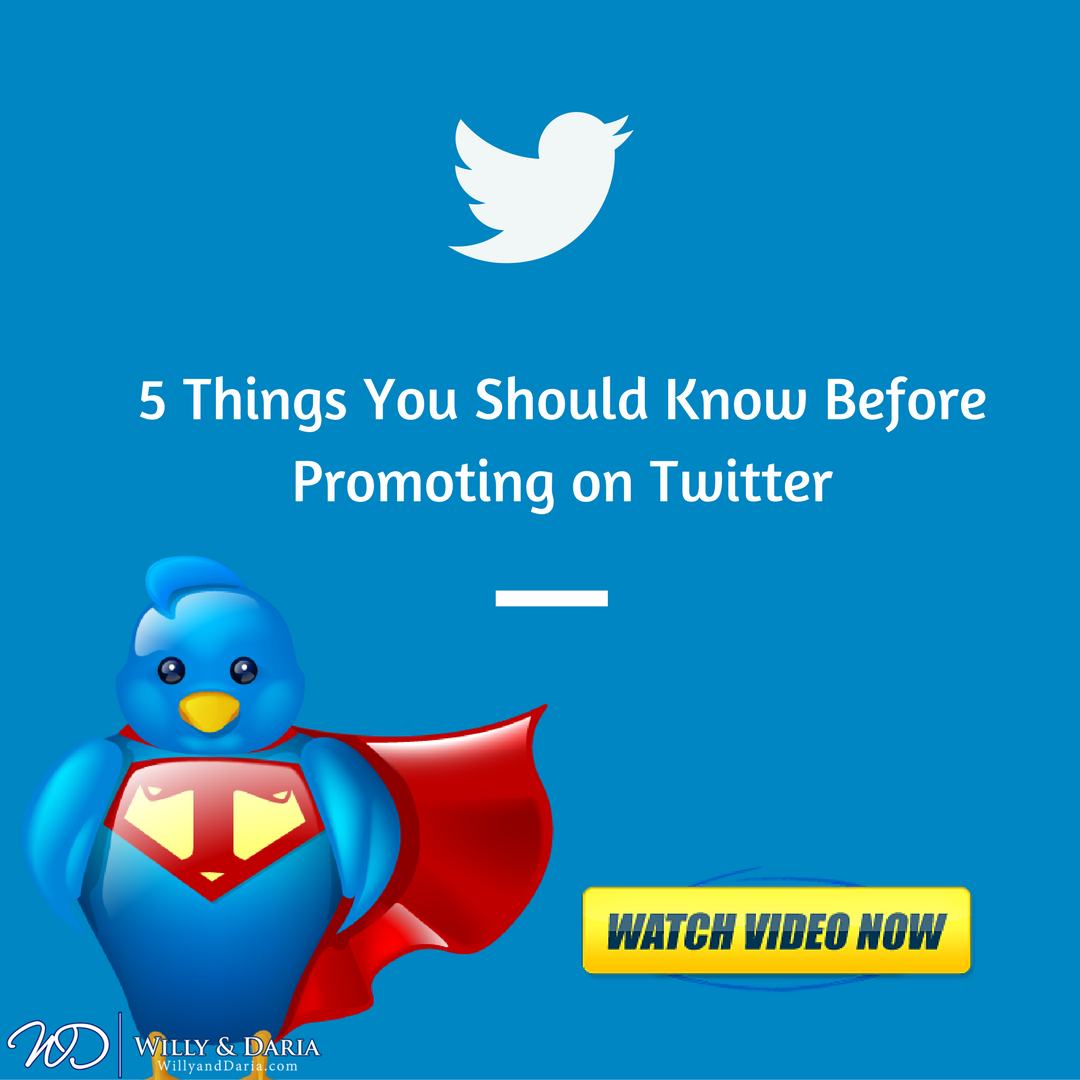 5 Things You Should Know Before Promoting on Twitter