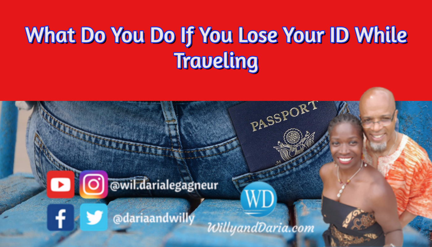What To Do To If You Lose Your ID While Traveling