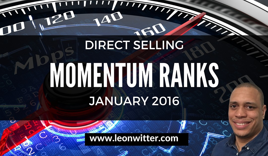 Direct Selling Momentum Ranks [Top 10 – Jan 2016]