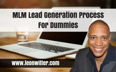 MLM Lead Generation Process For Dummies