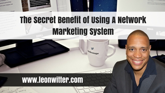 The Secret Benefit of Using A Network Marketing System