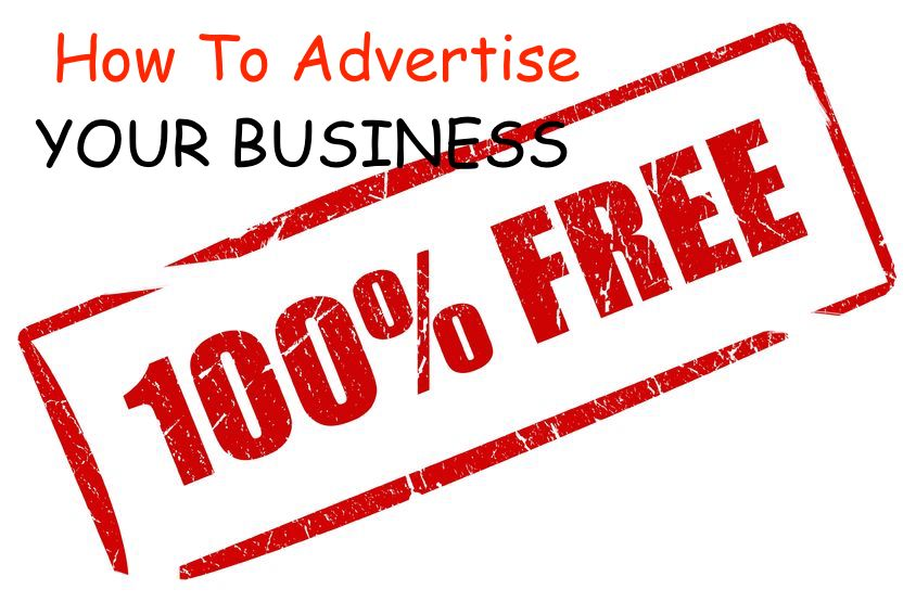 How to advertise your business for free when you have no money