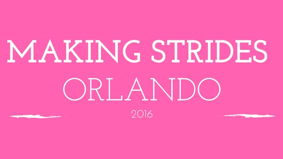 Making Strides of Orlando 2016