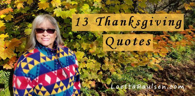 13 Inspiring Thanksgiving Quotes