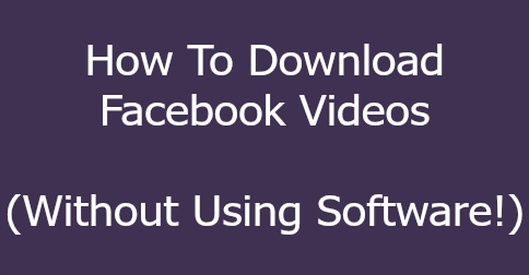 facebook video downloader 484x252