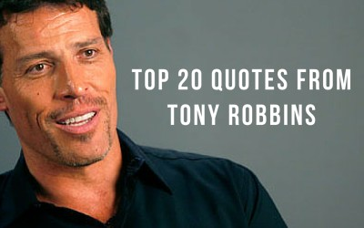 Famous Quotes: Top 20 Quotes From Tony Robbins
