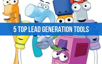 Lead Generation Tools – 5 Top Essential Tools